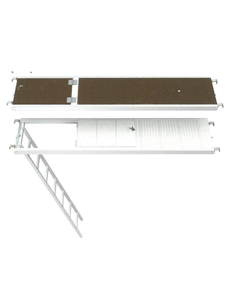 Plancher trappe pour échafaudage