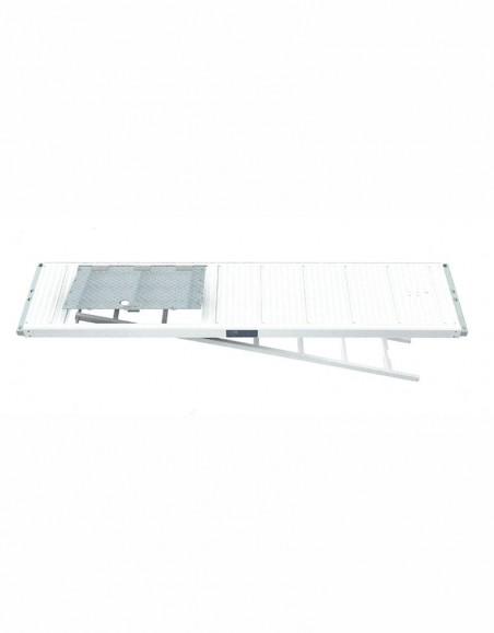 Plancher trappe avec échelle pour échafaudage